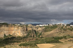Ronda seen from the 'Virgen de la Cabeza'