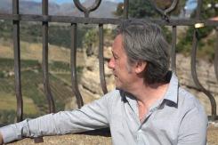 Andrew at Ronda bridge