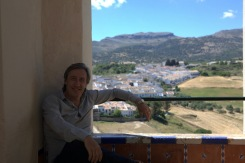 Andrew with view Ronda west