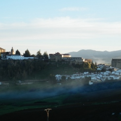 Sunrise at Ronda